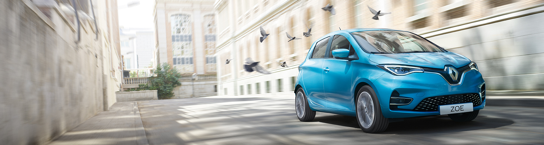Naujasis elektromobilis Renault ZOE