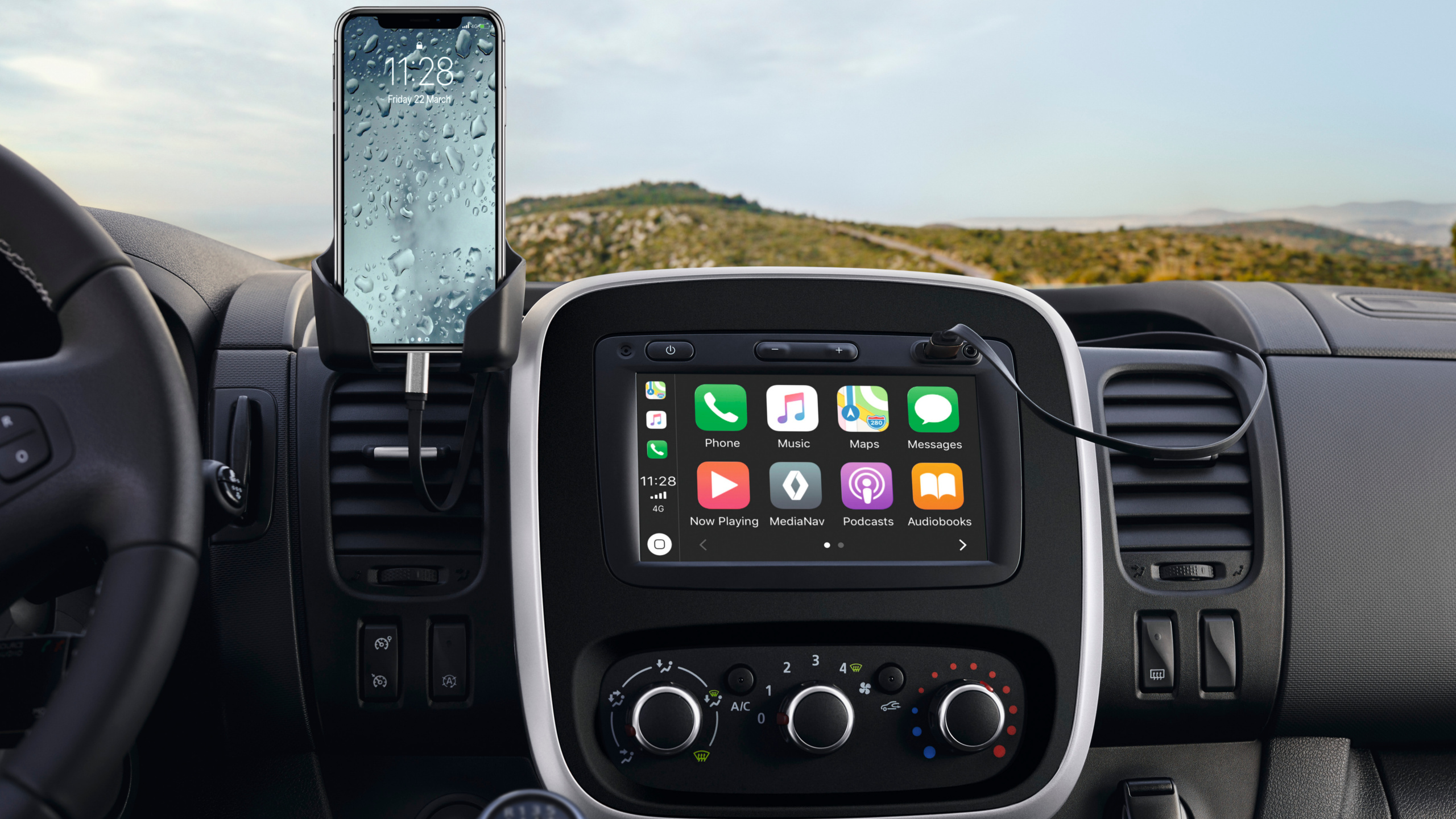 Renault Trafic Smart interface